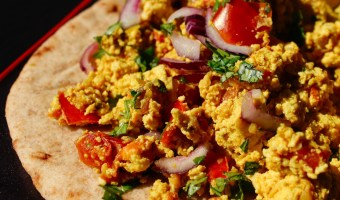 Spicy Indian Scrambled Tofu