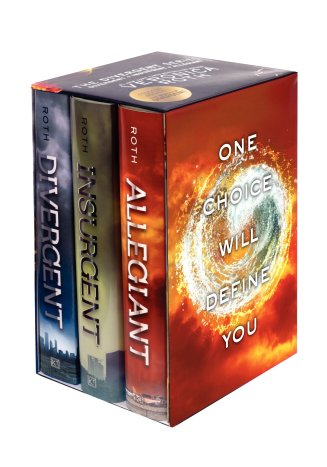 3. Divergent by Veronica Roth