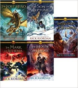 5. Heroes of Olympus by Rick Riordan