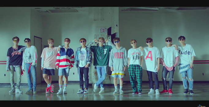 Wanna Ones Energetic Becomes Most Viewed Debut Mv For