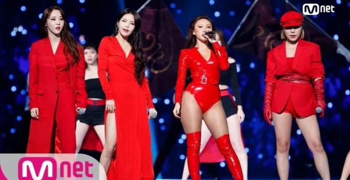 MAMAMOO Slays With Show-Stopping Performance At 2018 MAMA In