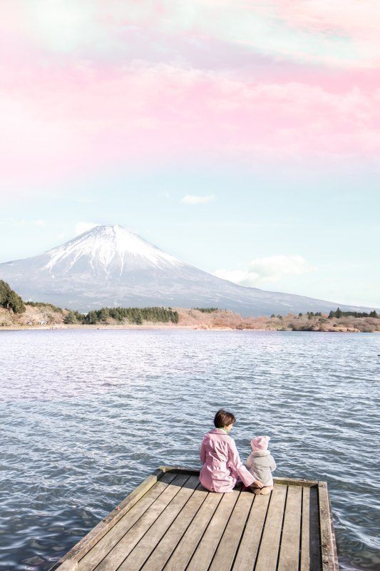 earth chakra mt fuji photo by eea-ikeda