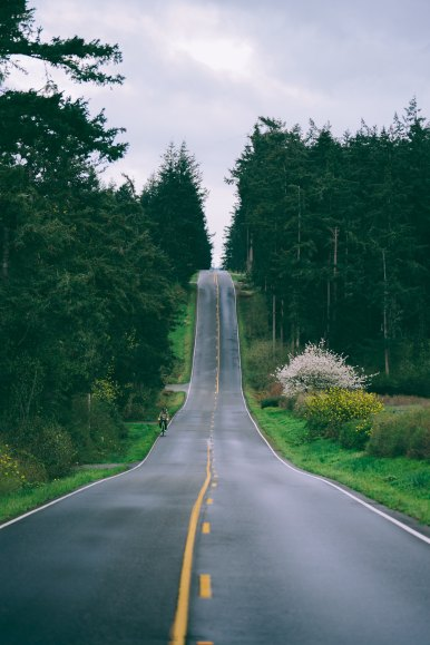 learning to be okay with yourself stock photo of Whidbey Island by Eric Saunders