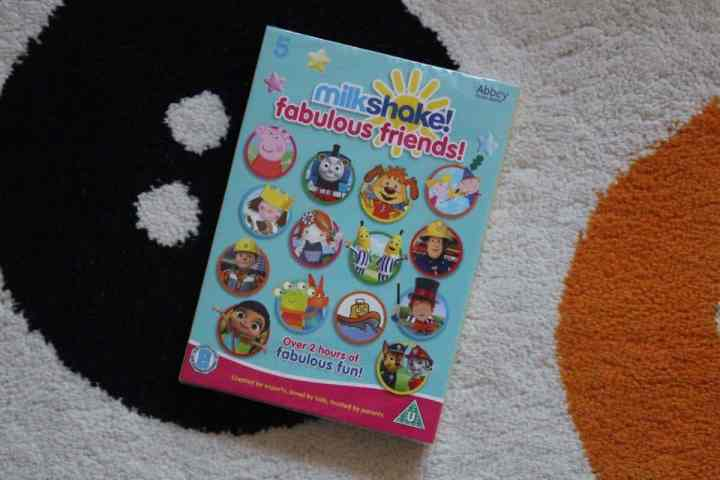 Milkshake Fabulous Friends DVD Review and Giveaway!