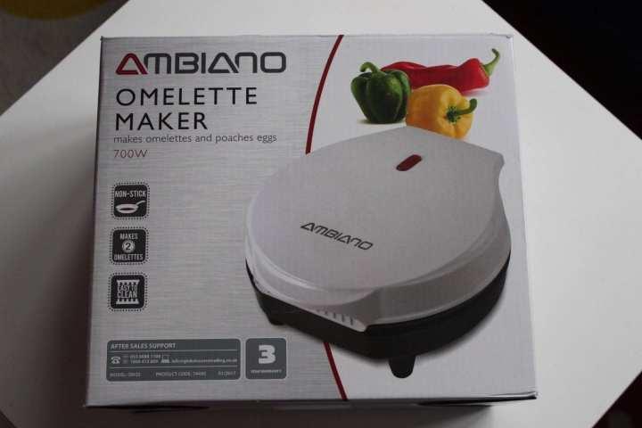 Review: Aldi Ambiano Omelette Maker