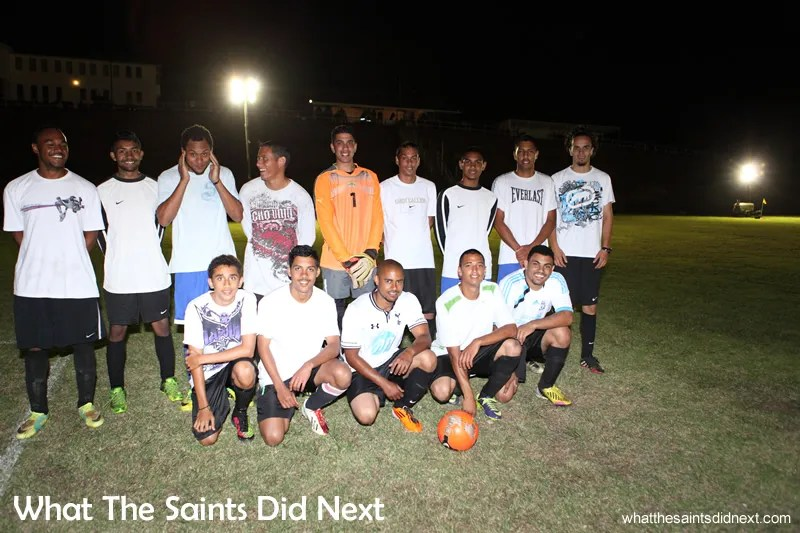 The St Helena Under 25s football team