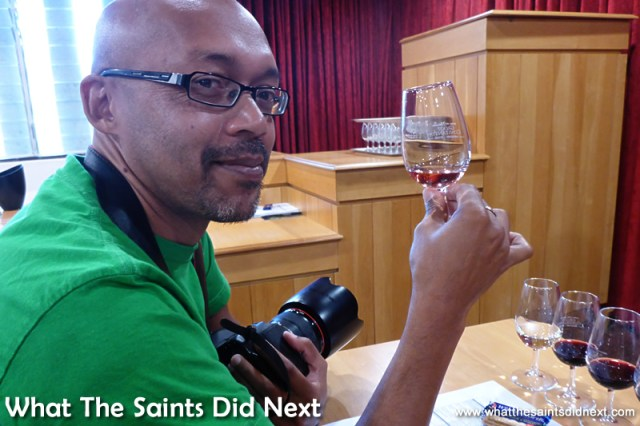 It's quite technical this wine tasting business!