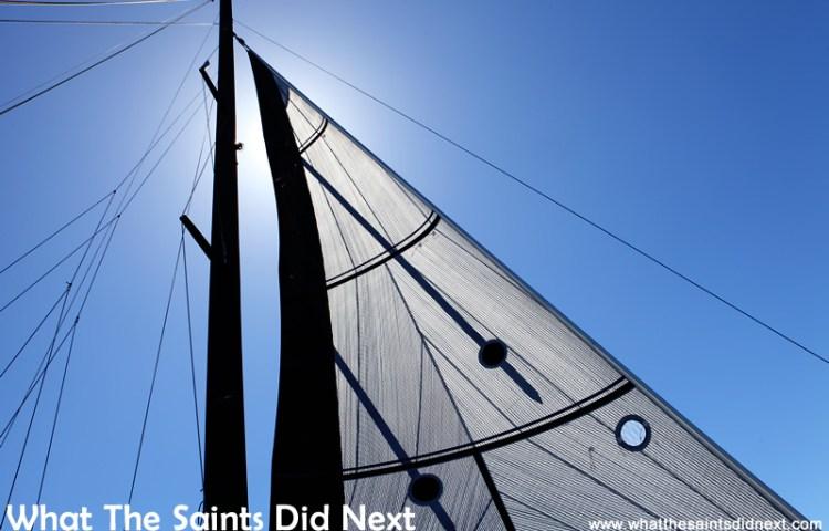 Sailing St Helena Bay And Screaming At 18 And A Half Knots