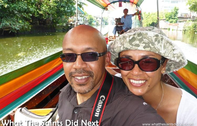 Having A Domestic On The Bangkok Long Tail Boat Tour