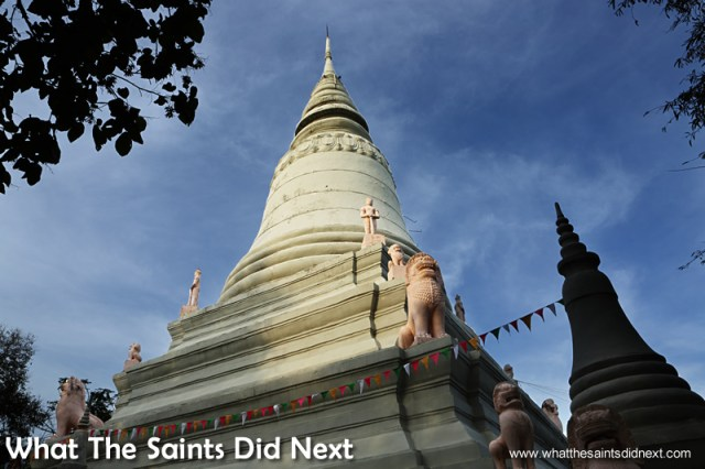 Wat Phnom temple is on Nim's list of highlights on a tour of the city.