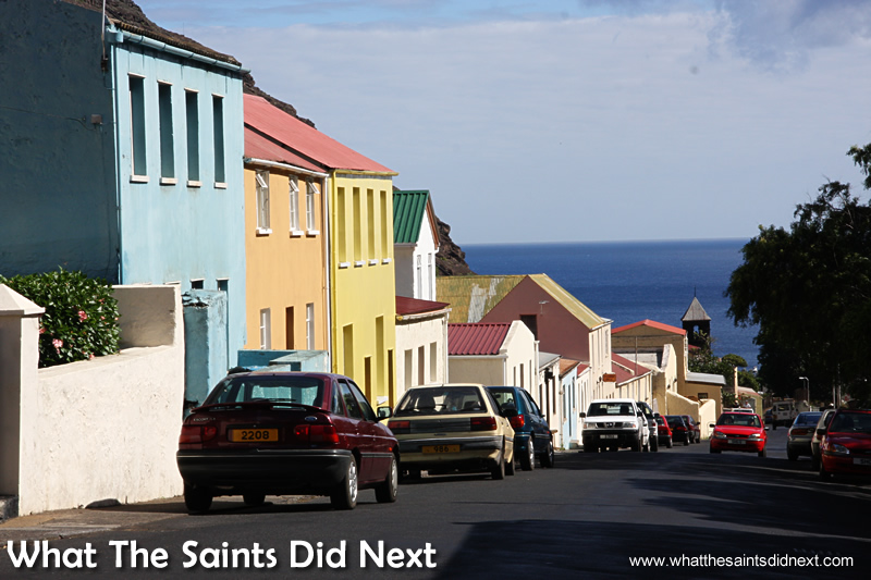 Jamestown, St Helena.