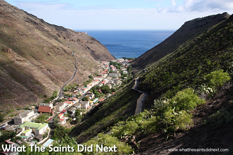 Jamestown is the capital of St Helena Island.