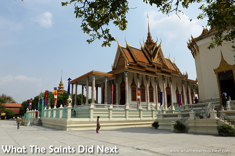 A must see in Phnom Penh - The Silver Pagoda Phnom Penh, Cambodia.