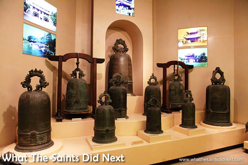 The bells. The National Museum of Vietnamese History.