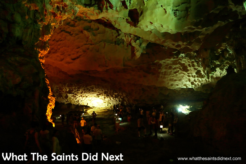 The name Sung Sot translates roughly to 'Surprising Cave' or 'Amazing Cave.'