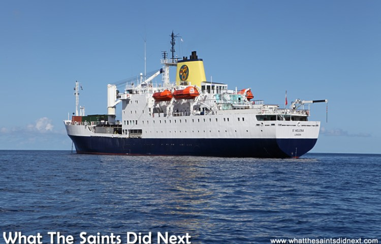 More Through The Picture Porthole – Photos Of The RMS St Helena