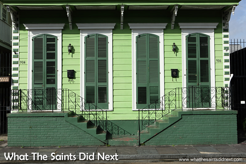 The stunning French Quarter in New Orleans. 20 stunning reasons to visit the French Quarter in New Orleans.