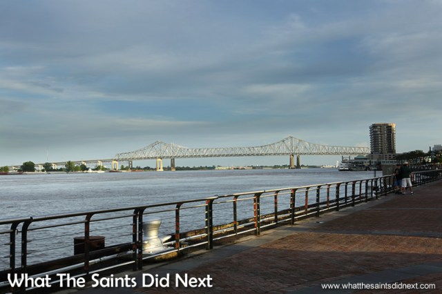 It's almost easy to forget the mighty Mississippi River borders one side of the French Quarter, an attraction in itself with steam/paddle boat tours daily. 20 stunning reasons to visit the French Quarter in New Orleans.
