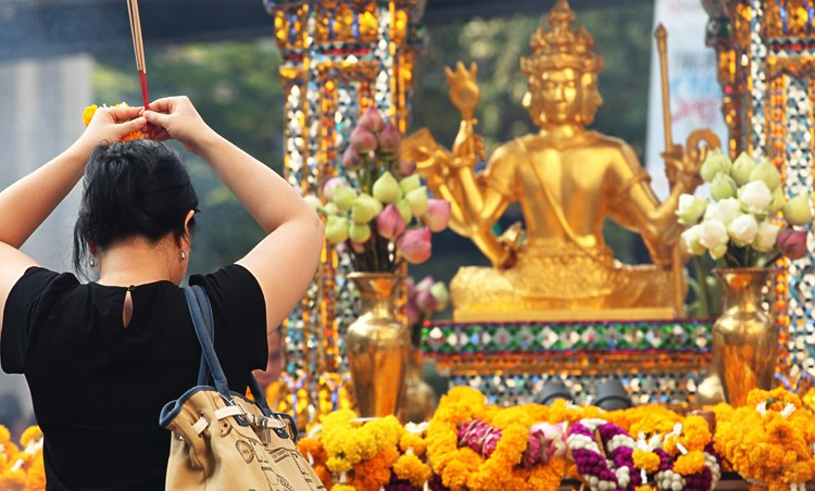 The Erawan Shrine, Bangkok – Before The August 2015 Bombing