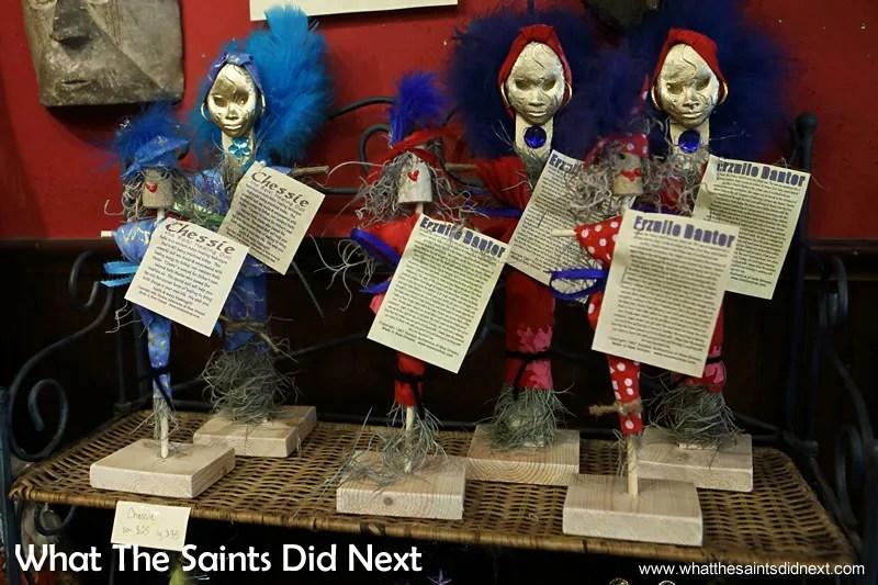 Voodoo dolls.