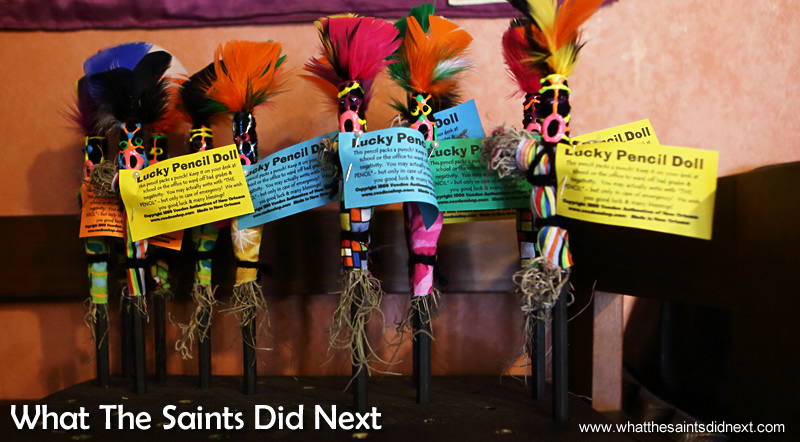 Lucky pencil Voodoo dolls New Orleans.
