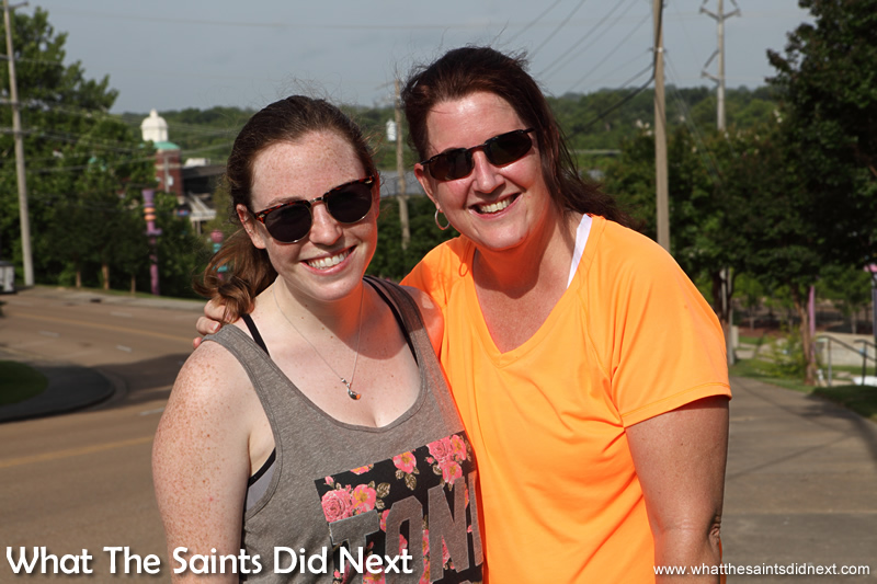 Katherine (left) and Pam from Vicksburg.