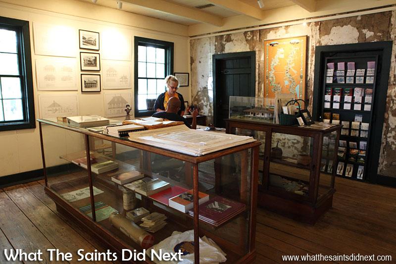 Inside the Pointe Coupée museum, False River Louisiana, USA.