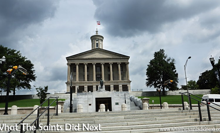Inside The Tennessee State Capitol Building Where Scenes For 'Nashville' Are Filmed