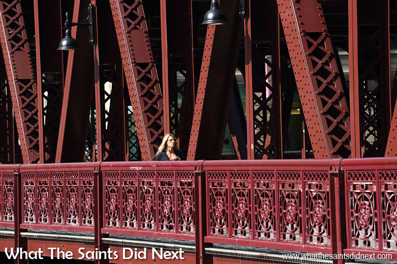The bridges over the Chicago River are one of the most beautiful sights in the city.The Great Chicago Fire in 1871 destroyed approx four square miles of the city, a large portion at the time. In rebuilding the city architects designed more modern buildings, constructed from steel and stone. This new styling was less susceptible to fire, however, more importantly it set a new worldwide standard for construction.