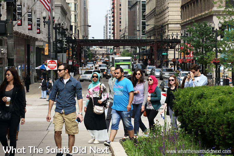 We found Chicago to be very pedestrian friendly, but it's not just us - a 2011 study by Walk Score ranked Chicago the fourth most walkable of fifty largest cities in the United States.