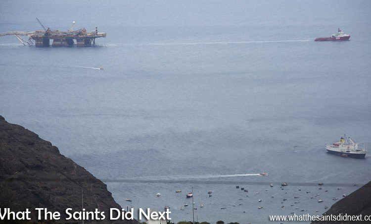 Skandi Admiral In Drive-By Shopping At St Helena