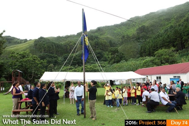 'Inclusive' 14 March 2016, 10:24 - 1/200, f/8, ISO-400 What The Saints Did Next - 2016 Project 366 Commonwealth Day 2016, being celebrated on St Helena at SHAPE, Sandy Bay. #InclusiveCommonwealth