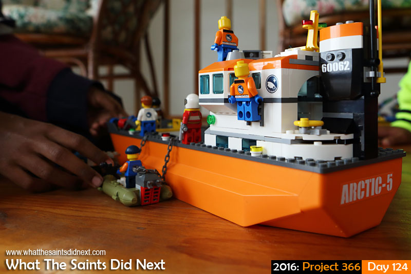 'Cruz' 3 May 2016, 09:09 - 1/80, f/5.6, ISO-800 What The Saints Did Next - 2016 Project 366 Playing with LEGO
