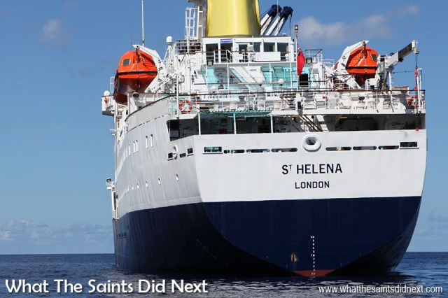 16 Pictures Celebrating St Helena Day 2016. The RMS St Helena says her final goodbyes to the island this year as she gives way to air access. For 26 years the vessel has been a constant and reassuring sight in Jamestown harbour, it will be strange and sad not to see the 'old girl' anymore.