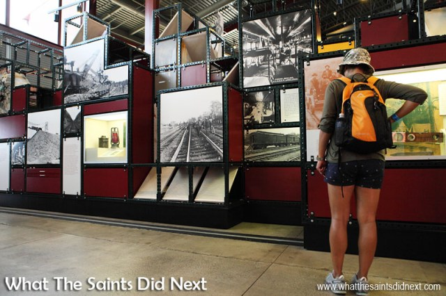 The museum at Steamtown, Scranton, has comprehensive exhibits about the history and technology of steam railroads in the United States.