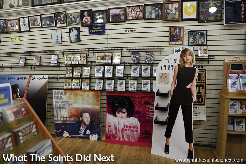 The Ernest Tubb Record Shop on Broadway continues to operate as a country music store today, where the modern stars of Nashville take their place alongside the founding members of the industry. For fans of country music it's a fascinating place to visit.