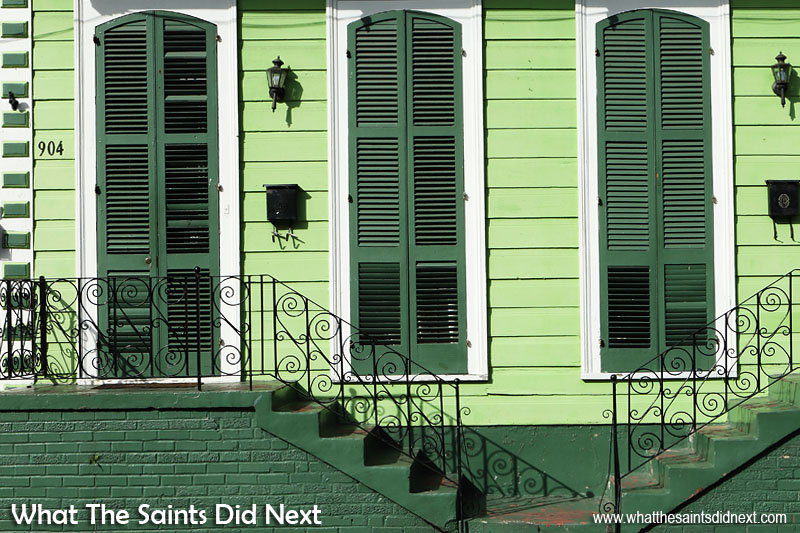 For the perfect morning of colour photography it's hard to beat the architecture of the French Quarter in New Orleans, USA. The decorators here are not shy about expressing themselves with colours; every building it seems is a work of art. Colour photography tips.
