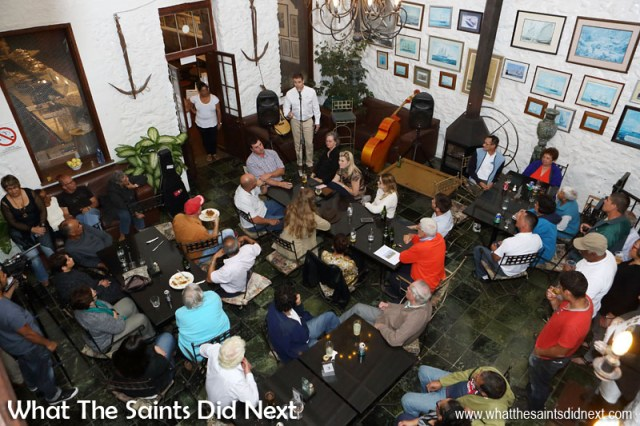 Atlantic Star Airlines presentation and public Q&A session at the Consulate Hotel that evening.