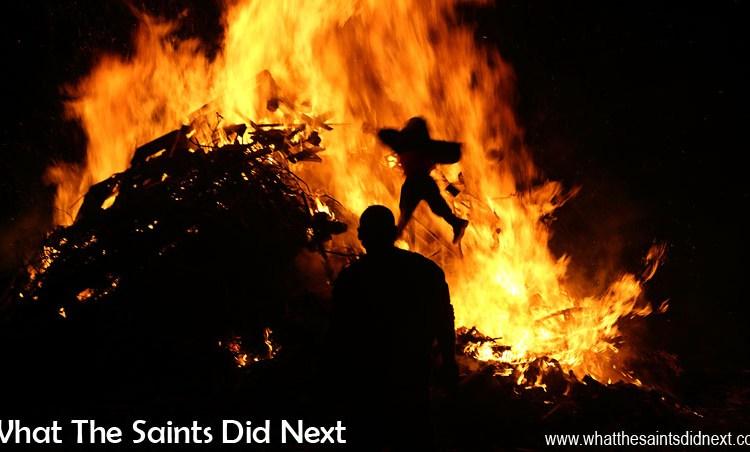 St Helena Guy Fawkes Day and Bonfire Night Celebrations
