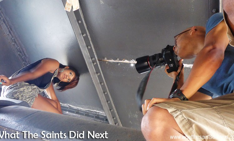 'Restricted' Behind The Scenes Pictures: St Helena Breeze Photoshoot
