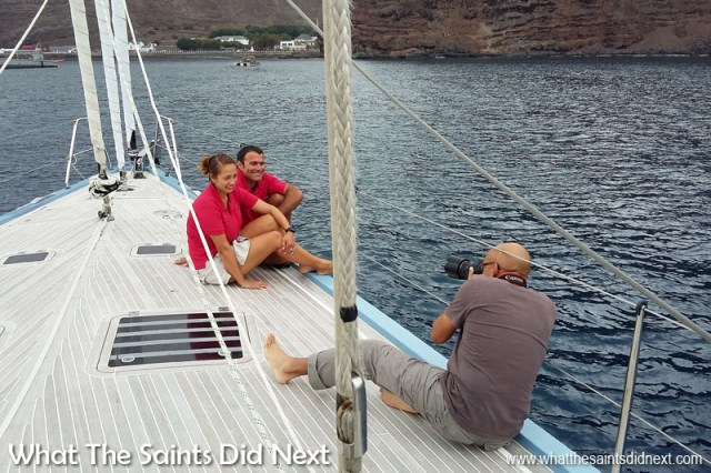 St Helenian Cheryl and her husband, Morgan Morice, make a quick stop at St Helena after 12 years yachting around the world. Here on a photoshoot with What The Saints Did Next to go with our blog of their amazing adventures. St Helena 2016: The Year In Review