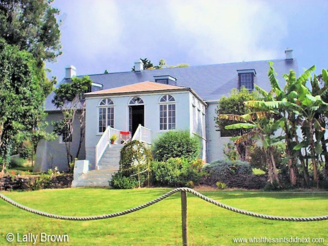 Bertrand's Cottage, St Helena, pictured in 2000. Picture: Lally Brown.