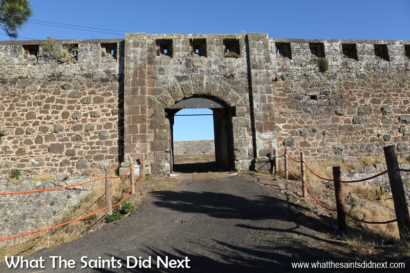 Things To Do With Kids On St Helena - The entrance to High Knoll Fort.