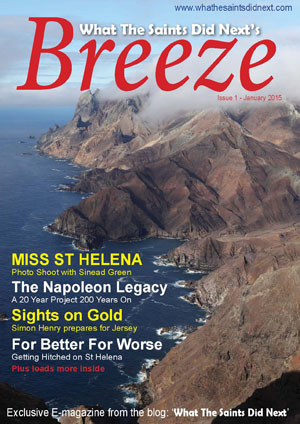 Breeze 1 e-magazine - published in January 2015.