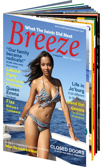 Breeze 3 E-Magazine from What The Saints Did Next