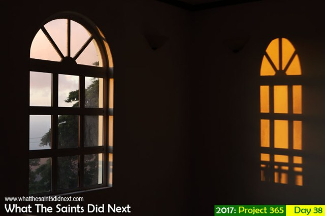 'Saydnaya' 7 February 2017, 18:52 - 1/60, f8, ISO-400 What The Saints Did Next - 2017 Project 365. Natural light shadows.