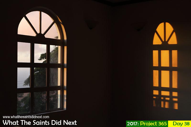 'Saydnaya'<br /> 7 February, 2017, 18:52 - 1/60, f8, ISO-400<br /> Natural light shadows.