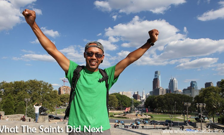The Day We Ran The Rocky Steps