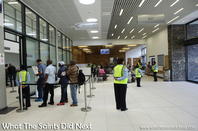 St Helena Airport News, Commercial Passenger Flight and