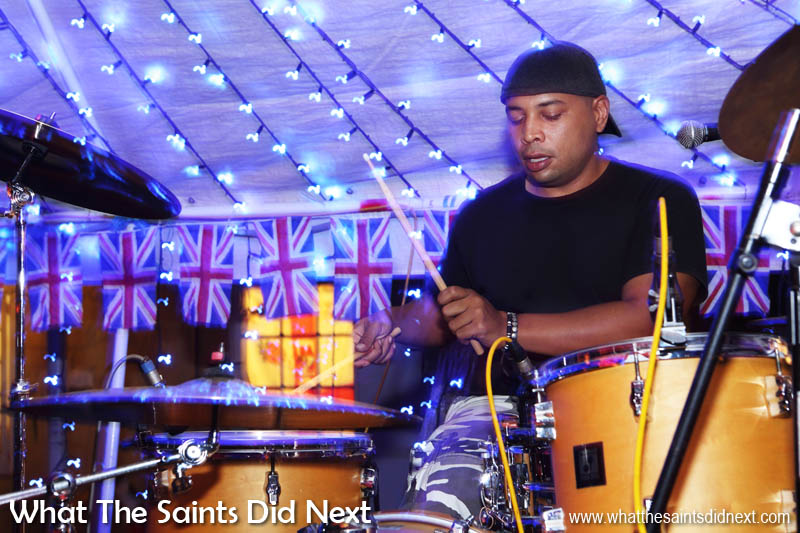 Barry Francis, Island Politics drummer.